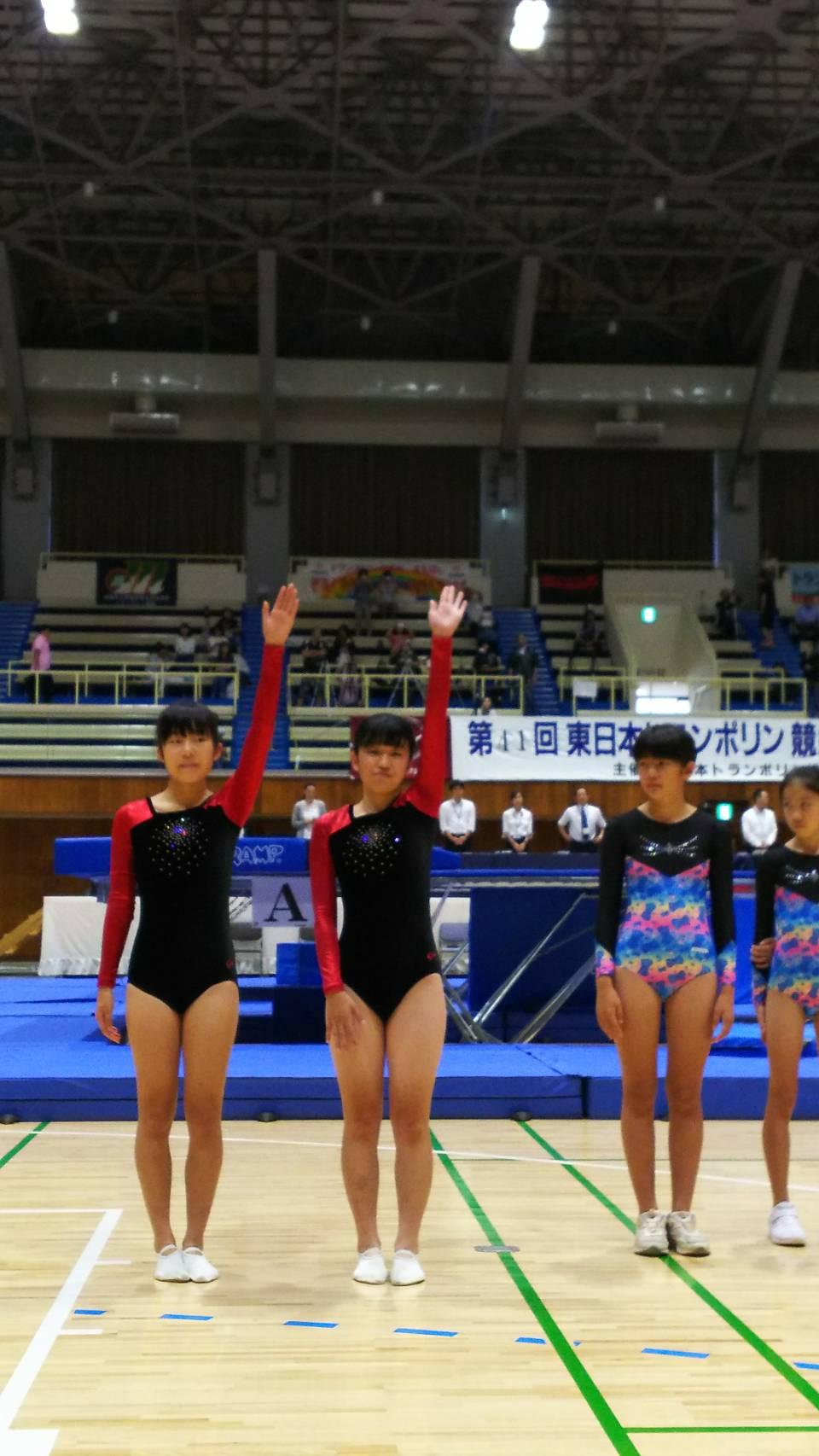 ベルデスポーツクラブ東日本トランポリン競技選手権大会